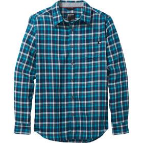 Marmot Fairfax Midweight Camisa Franela Manga Larga Hombre, azul